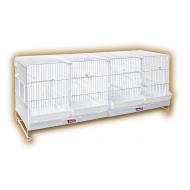 Jaula para Cría de pájaros Periquitos, canarios de 1 metro de largo