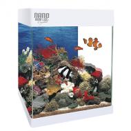 Acuario pequeño decorativo con Led Nano Aqualed 20 y 30 litros