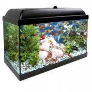 Acuario para peces mediano de 68 litros AQUA LED PRO 68
