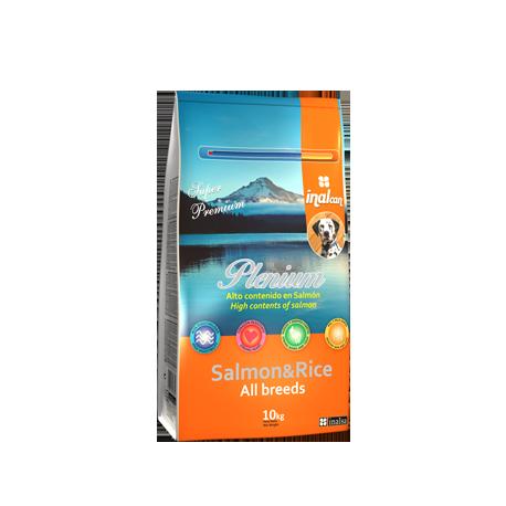 Pienso para perros Salmon-Rice Plenium
